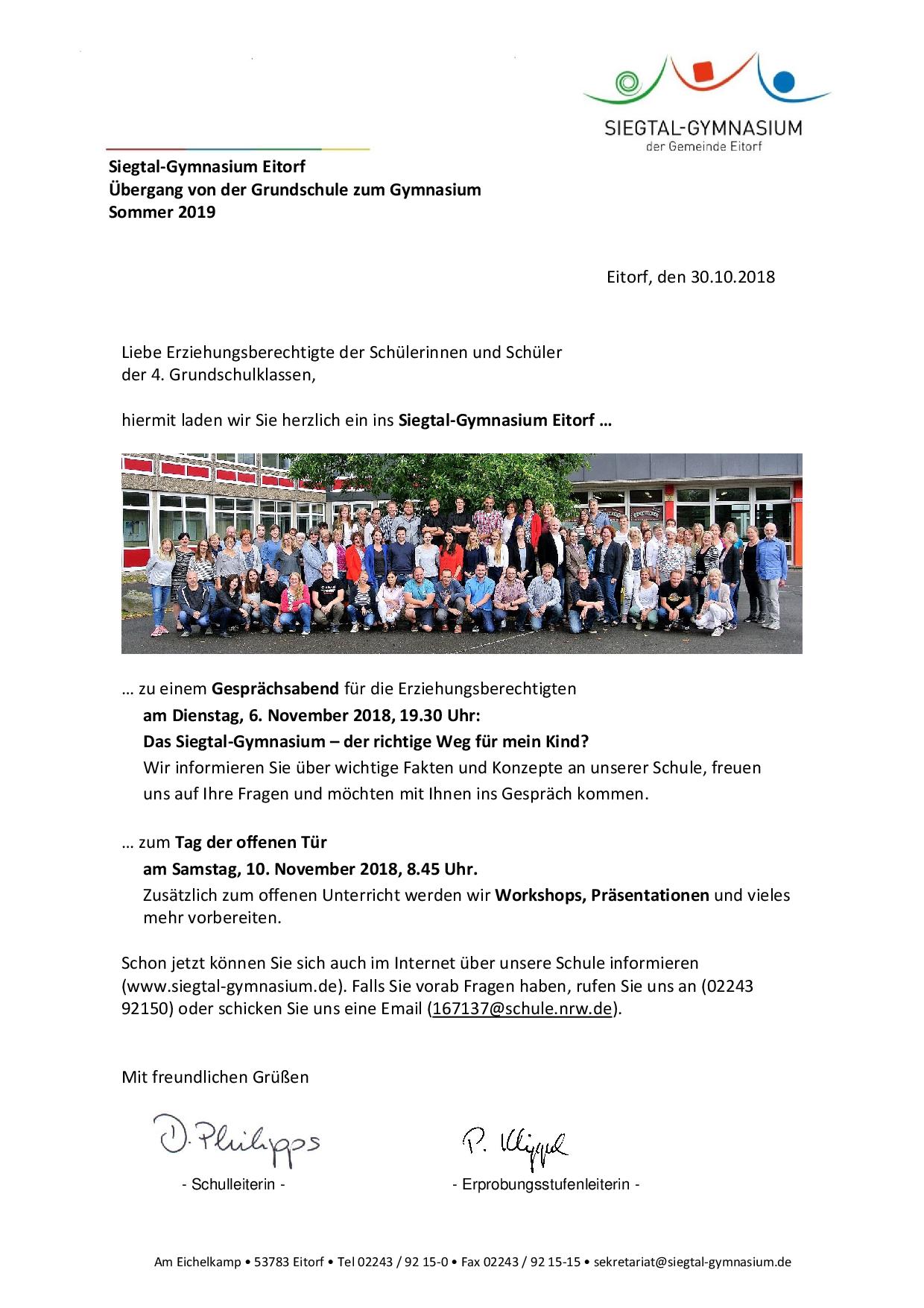 News Siegtal Gymnasium Eitorf